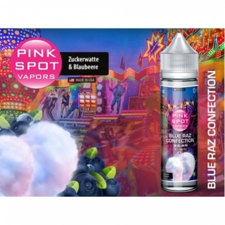 Pink Spot - Blue Raz Confection 50ml Shake & Vape 0mg