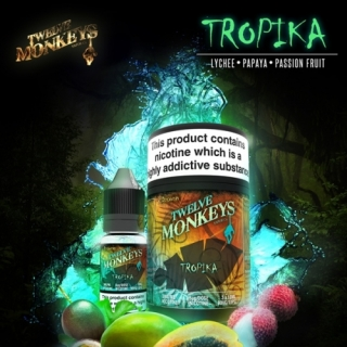 Twelve Monkeys E-Liquid Tropika 3x10ml