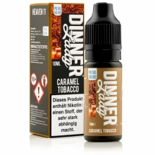 Dinner Lady Caramel Tobacco 50/50 10 ml