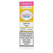 Dinner Lady -Desserts- Lemon Tart Liquid 10ml