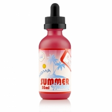 Dinner Lady Strawberry Custard Shaken Vape 50ml 0mg