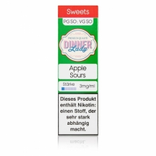 Dinner Lady -Sweets- Apple Sours Liquid 10ml