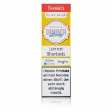 Dinner Lady -Sweets- Lemon Sherbets Liquid 10ml