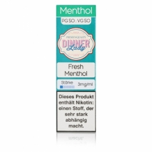 Dinner Lady -Tobacco- Fresh Menthol Liquid 10ml
