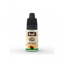 Kush Basics Hot Peach CBD Liquid 10ml 100mg