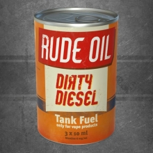 Rude Oil E-Liquid Dirty Diesel