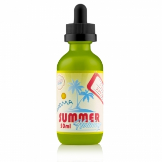 Dinner Lady Summer Holidays Guava Sunrise Shaken Vape 50ml 0mg
