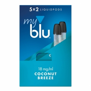 MyBlu 2x Coconut Breeze Liquidpod