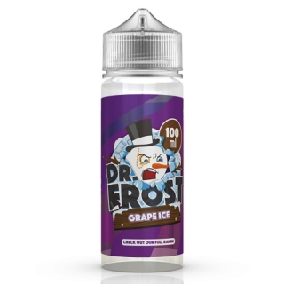 Dr. Frost Polar Ice Vapes - Grape Ice Liquid Shake & Vape 100ml