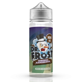 Dr. Frost Polar Ice Vapes - Honeydew Blackcurrant Ice Liquid Shake & Vape 100ml