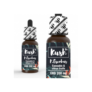 Kush Standard P. Escobar CBD Liquid 10ml 200mg